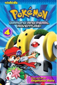 Pokémon: Diamond and Pearl Adventure!, Vol. 4 - Shigekatsu Ihara
