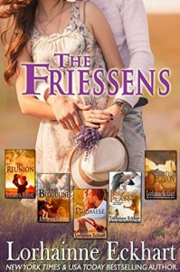 The Friessens (Books 1 - 5, Boxed Set) - Lorhainne Eckhart