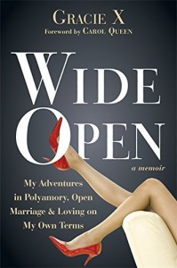 Wide Open: My Adventures in Polyamory, Open Marriage, and Loving on My Own Terms by Gracie X (2015-09-01) - Gracie X;