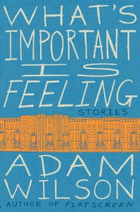 What's Important Is Feeling - Adam  Wilson