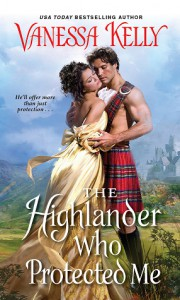 The Highlander Who Protected Me - Vanessa Kelly
