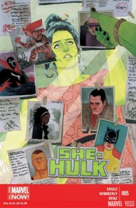 She-Hulk #5 - Charles Soule, Ron Wimberly