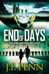 End of Days (ARKANE Book 9) - J.F. Penn