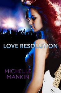 Love Resolution (Black Cat Records, #3) - Michelle Mankin
