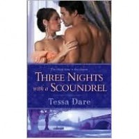Three Nights with a Scoundrel (Stud Club, #3) - Tessa Dare