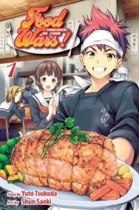 Food Wars!, Vol. 1: Shokugeki no Soma - Shun Saeki, Yuto Tsukuda