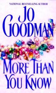More Than You Know - Jo Goodman