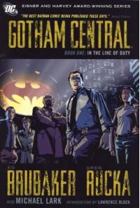 Gotham Central, Book One: In the Line of Duty - Ed Brubaker, Greg Rucka, Michael Lark, Lawrence Block
