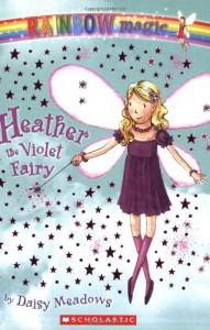 Heather The Violet Fairy - Georgie Ripper, Daisy Meadows