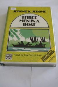Three Men in a Boat - Jerome K. Jerome, Ian Carmichael