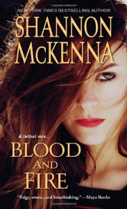 Blood and Fire (McClouds & Friends #8) - Shannon McKenna