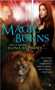 Magic Burns -  Ilona Andrews