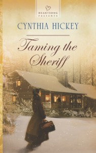 Taming the Sheriff - Cynthia Hickey