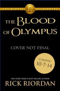 The Blood of Olympus (Heroes of Olympus book 5) - Rick Riordan