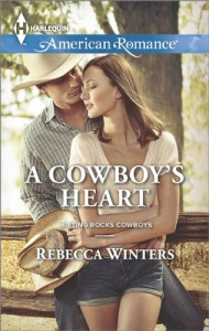 A Cowboy's Heart (Harlequin American RomanceHitting Rocks Cowboys) - Rebecca Winters