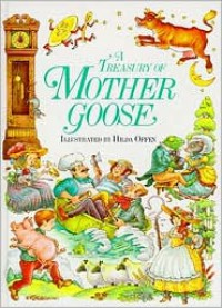 A Treasury of Mother Goose - Linda Yeatman, Hilda Offen
