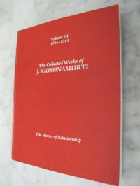 The Collected Works Of J. Krishnamurti - Jiddu Krishnamurti