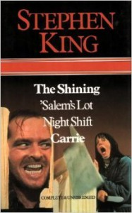 The Shining / Salems Lot / Night Shift / Carrie - Stephen King