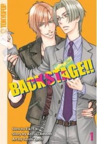 Back Stage!! Band 1 - Eiki Eiki, Kazuki Amano