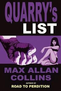 Quarry's List - Max Allan Collins