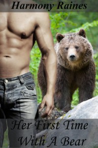 Her First Time With A Bear (BBW Shifter Romance) - Harmony Raines