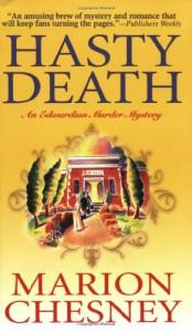 Hasty Death: An Edwardian Murder Mystery (Edwardian Murder Mysteries) - M. C. Beaton