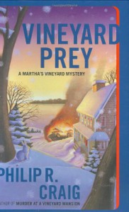 Vineyard Prey: A Martha's Vineyard Mystery (Martha's Vineyard Mysteries) - Philip R. Craig