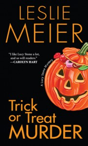 Trick or Treat Murder (A Lucy Stone Mystery #3) - Leslie Meier