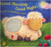 Good Morning, Good Night!: A Touch & Feel Bedtime Book - Teresa Imperato,  Melanie Mitchell (Illustrator)
