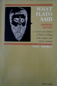 What Plato Said - Paul Shorey