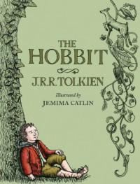 The Hobbit: Illustrated Edition - J.R.R. Tolkien, Jemima Catlin