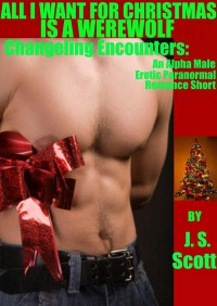 All I Want For Christmas is a Werewolf (Changeling Encounters, #3) - J.S. Scott