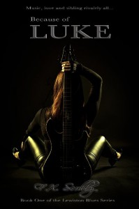 Because of Luke (Lewiston Blues, #1) - F.X. Scully