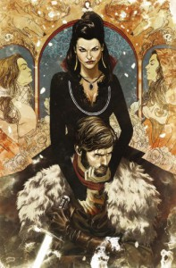 Once Upon a Time: Shadow of the Queen - Dan Thompson, Corinna Sara Bechko, Mike Henderson, Stephanie Hans, Vasilis Lolos, Mike Del Mundo