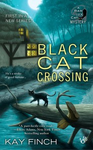Black Cat Crossing - Kay Finch