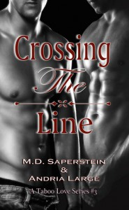 Crossing the Line - M.D. Saperstein, Andria Large