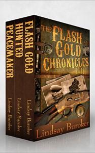 The Flash Gold Boxed Set, Chronicles I-III - Lindsay Buroker
