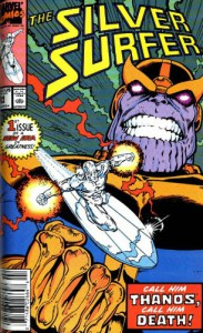 The Silver Surfer: Rebirth of Thanos - Jim Starlin, Scott Edelman, Ron Lim, Mike Zeck