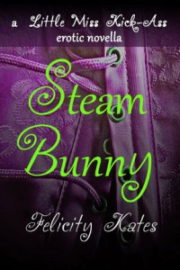 Steam Bunny (Little Miss Kick-Ass Erotic Novella #1) - Felicity Kates