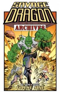 Savage Dragon Archives Volume 9 - Erik Larsen