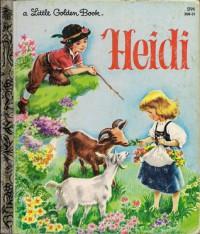 Heidi - Johanna Spyri, Golden Books, Janet Smally