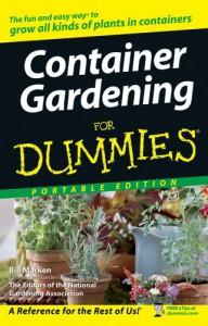 Container Gardening For Dummies Portable Edition - Bill Marken