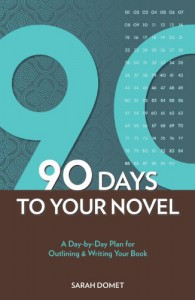 The 90-Day Novel: A Day-by-Day Plan for Outlining & Writing Your Book - Sarah Domet