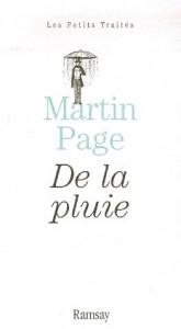 De la pluie - Martin Page