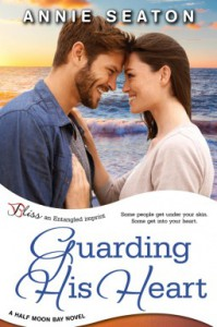 Guarding His Heart (Half Moon Bay #3) - Annie Seaton
