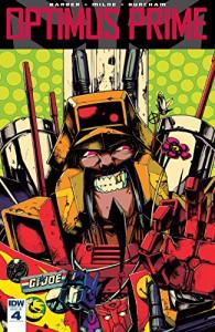 Optimus Prime #4 - John Barber, Alex Milne, Kei Zama