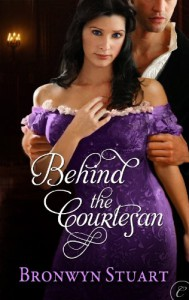 Behind the Courtesan - Bronwyn Stuart