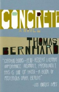 Concrete - Thomas Bernhard, David McLintock