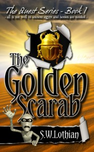 The Golden Scarab (Quest, #1) - S.W. Lothian