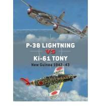 P-38 Lightning vs Ki-61 Tony: New Guinea 1943-44 - Donald Nijboer, Jim Laurier, Gareth Hector